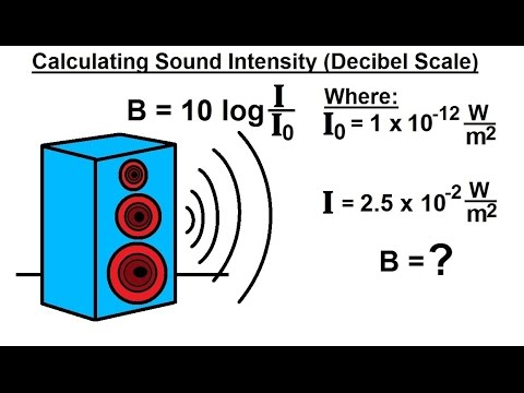 PreCalculus - Logarithmic & Exponential Functions (19 of 20) Calculating Decibels (Sound Intensity)