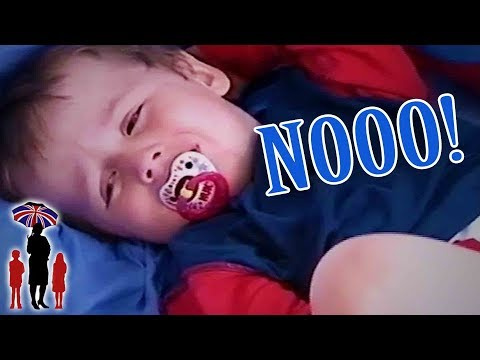 Supernanny | Boy Throws Tantrum To Avoid Pre-School