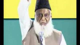 Dr. Israr Ahmed quoting an eemaan afroz hadees