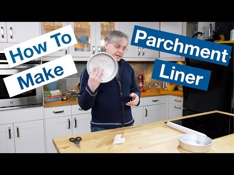 How To Make A Parchment Paper Disk || Le Gourmet TV Recipes