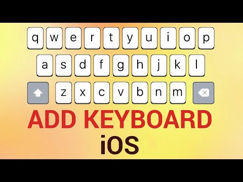 How to add/install external third party keyboard for iPhone and iPad