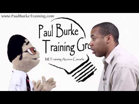 Motivational Interviewing - Reflective Listening Demo from Paul Burke Training