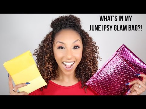 What's In My June Ipsy Glam Bag!?   BiancaReneeToday