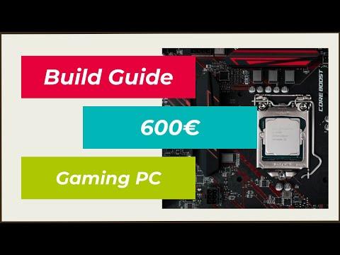 Build Guide - Gaming PC unter 600€ selbst zusammenstellen/bauen - Oktober 2014