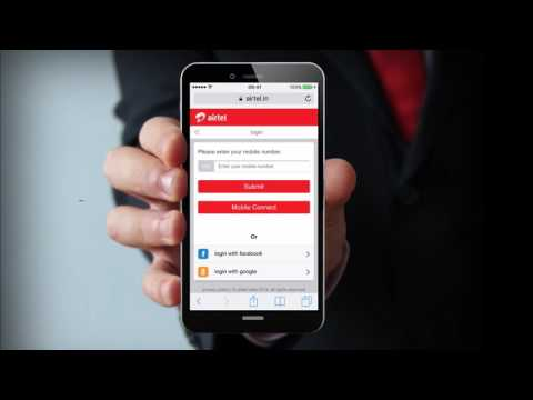 Demonstration: Airtel (India) Self Care Mobile Connect Authenticate