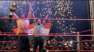 The Great Khali Takes Revenge, Beats Three Wrestlers On Return From ICU