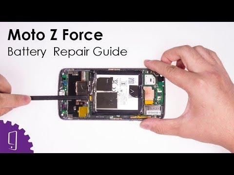 Moto Z Force Battery Repair Guide