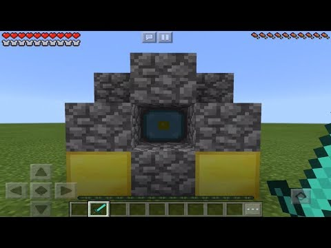 DOES THE NETHER REACTOR WORK In MINECRAFT 1.2.5+ ? (Pocket Edition Test)