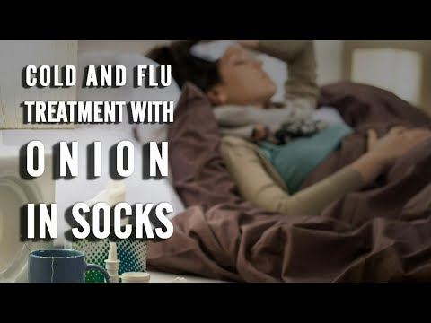 Cold and Flu Treatment with Onion in Socks || Natural Health and Life