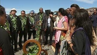 Download TMT Opponents Halt Groundbreaking Ceremony Video