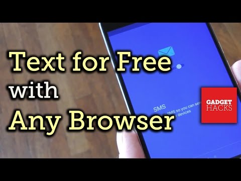 Send & Receive Android SMS Messages from Any Browser for Free [How-To]