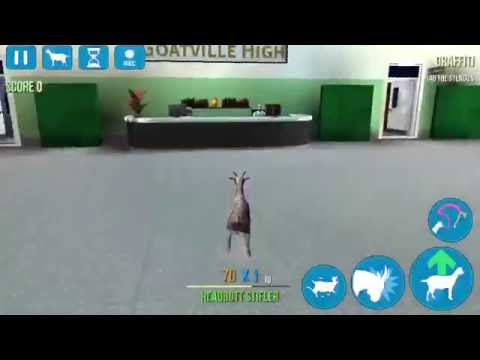Goat Simulator - Goatville High - How to get into Dean's Office