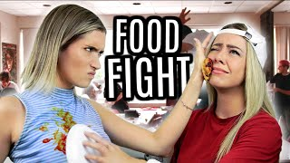 FOOD FIGHT DE YOUTUBERS