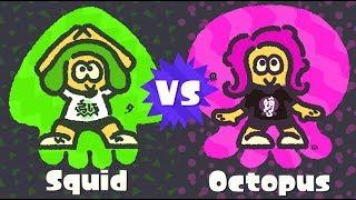 Splatoon 2 Squid Vs Octopus Splatfest Stream