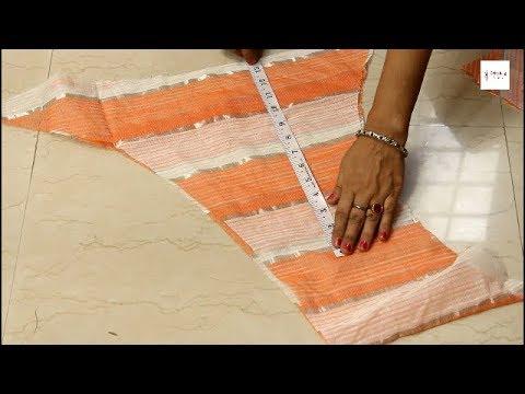 कतरन मे से बनाये ये सुन्दर ड्रेस , Umbrella frock cutting and stitching, baby frock cutting