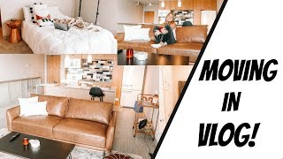 MOVING INTO MY FIRST APARTMENT WITH MY BOYFRIEND!