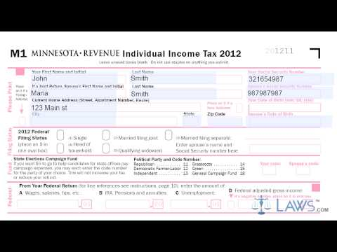 Form M1 Individual Income Tax