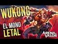 EL MONO LETAL 🐵 | Wukong Gameplay | Arena of Valor | Black Ursus