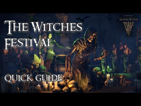 ESO Guide | The Witches Festival Quick Guide // Halloween Event 2017