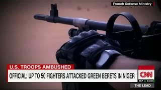 3 US Green Berets killed in ambush in Niger