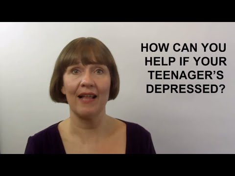How Can You Help if Your Teenager's Depressed?  (Raising Teenagers #11)