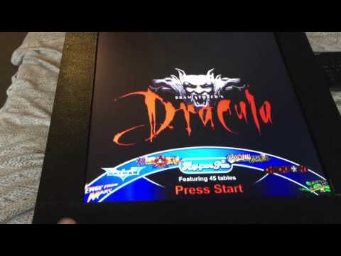 Virtual Pinball Machine UK Bram Stokers Dracula, Simpsons, Medievil Madness  pin mame