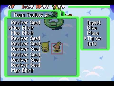 Pokemon Mystery Dungeon Red Rescue Team: Boss 8 - Rayquaza
