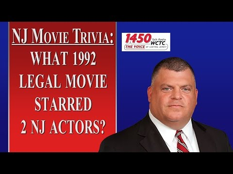 NJ Movie Trivia:  1992 Courtroom Drama (WCTC Radio)