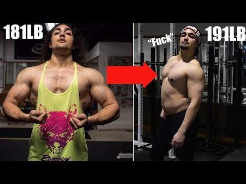 WHY I'm STOPPING My Muscle Building Program (I've Gotten Too Fat)