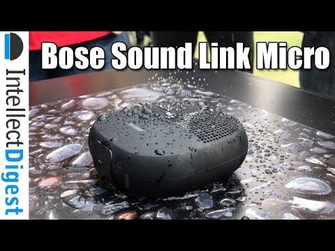 Bose Sound Link Micro India Hands On, Price & Features Overview | Intellect Digest