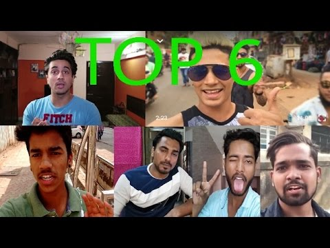 TOP 6 VLOGGERS IN INDIA 2017