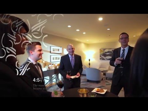 Business Travel at Fairmont Waterfront, Vancouver