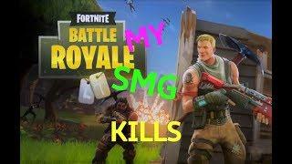SMG kills in Fortnite