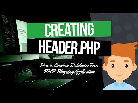 PHP Blogging Application: Create the header.php Template Part