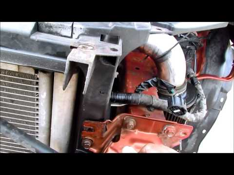 MAZDA  6 Front Bumper cross support Removal