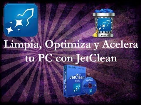 Limpiar,Acelerar y Optimizar mi PC con JetClean 2014