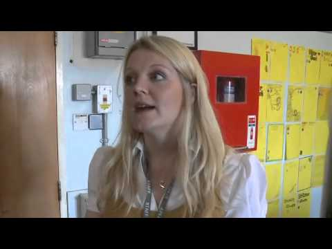 Sarah Davy, science teacher