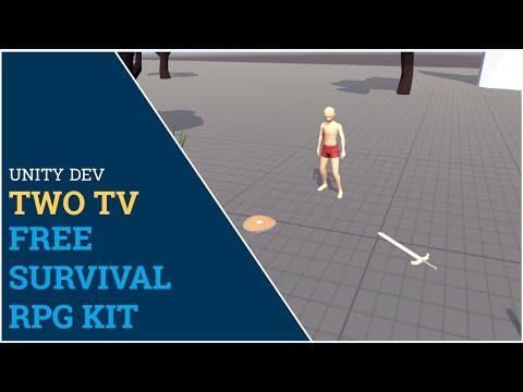 Unity 3d - Free Survival RPG Kit