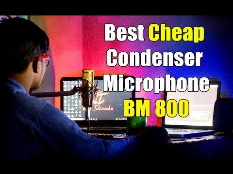 Best Cheap Professional Condenser Microphone BM-800 in India Review | Tech Tutorials