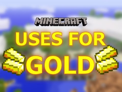 Minecraft:  Xbox 360- Uses for Gold Ore (Gameplay/Commentary) By  Kilometr
