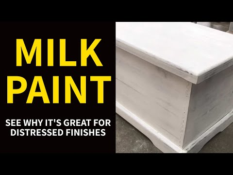 MILK PAINT: See Why It's Great for Distressed Finishes