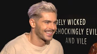 Why Zac Efron Says His Abs Will Never Compare to Brad Pitt's (Exclusive)