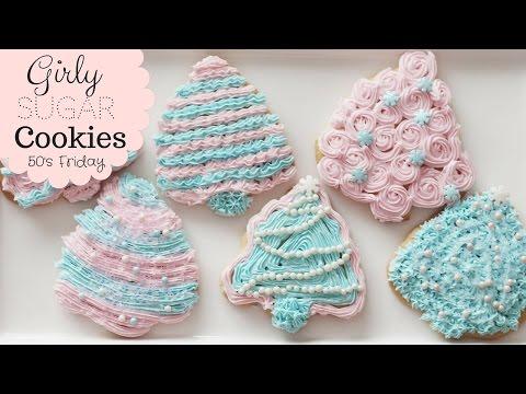HOW TO: Pastel Christmas Sugar Cookies