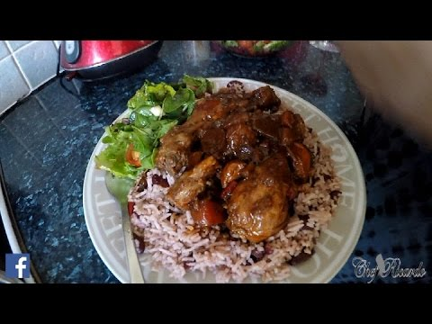 Best Jamaican Rice And Peas Brown Stew Chicken Salad Recipe Coming Soon | Recipes By Chef Ricardo