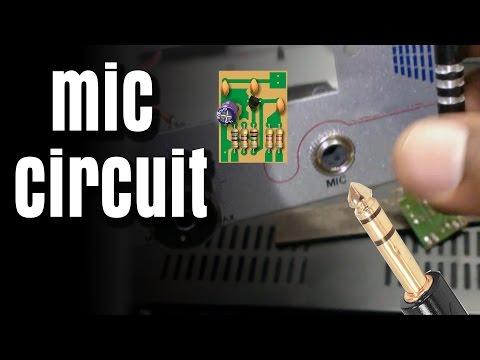 How to Make Mic Circuit Board DIY Hindi Electronics [ELECTRO INDIA]