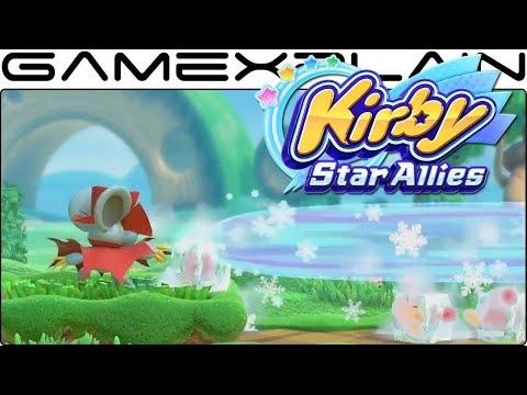Kirby Star Allies - Daroach Gameplay Tease