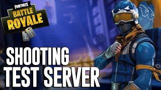 Fortnite Shooting Test Server - Fortnite Battle Royale Gameplay - Ninja