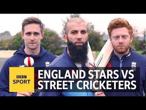 The Ashes: Can England's Moeen Ali, Jonny Bairstow & Chris Woakes play street cricket? - BBC Sport