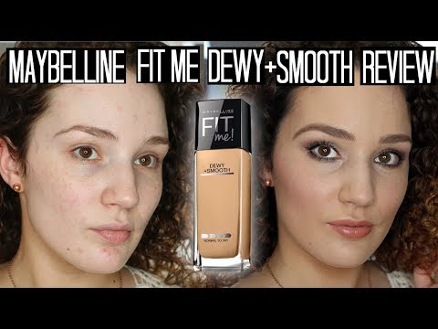 Maybelline Fit Me Dewy + Smooth Review & Demo on Combo Skin
