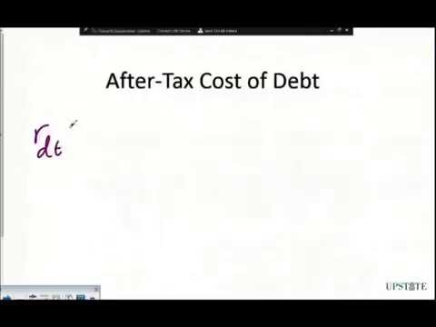WACC - Cost of Debt